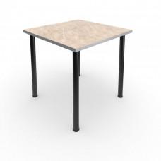 Стол обеденный квадратный под табурет