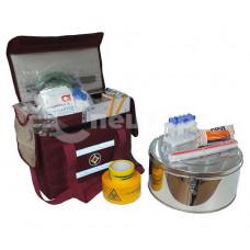 Укладка для забора и доставки в лабораторию трупов грызунов, летающих кровососущих