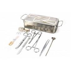 Ветеринарный набор для кастрации в стерилизаторе