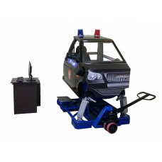 """Автотренажер """"Захват-01М"""" для отработки практических навыков стрельбы из движущегося автомобиля (двухстепенная динамическая платформа)"""