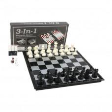 Шахматы, шашки, нарды 3 в 1