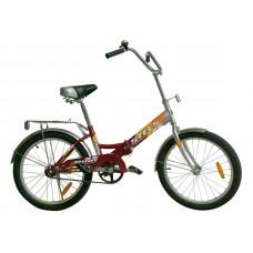 Велосипед для проведения соревнований с ножным тормозом