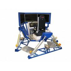"""Автотренажер контраварийного вождения """"КамАЗ-Мастер-05"""" (система из трех широкоформатных ЖК-дисплеев 42"""", шестистепенная динамическая платформа)"""