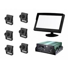 """Аппаратно-программный комплекс аудио- и видеорегистрации """"Взгляд-02"""" (6 видеокамер, ЖК-монитор 5"""", жесткий диск)"""
