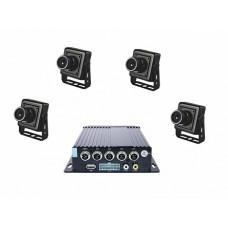 """Аппаратно-программный комплекс аудио- и видеорегистрации """"Взгляд-01"""" (4 видеокамеры)"""