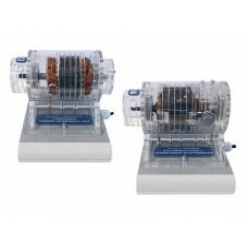 """Комплект учебно-лабораторного оборудования """"Изучение конструкции и принципов работы электрических двигателей"""""""