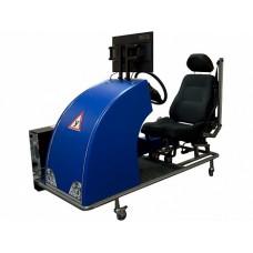 Автотренажер Форсаж-1(панель приборов отображается на ЖК-дисплее)