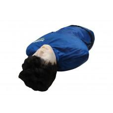 Тренажер-манекен взрослого пострадавшего (голова, торс) для отработки приемов сердечно-легочной реанимации (со светозвуковым индикатором)