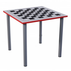 Стол шахматный ТР 2-х местный нерегулируемый на металлокаркасе