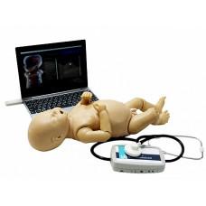 Манекен новорожденного для отработки навыков аускультации