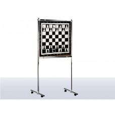 Напольная шахматная магнитная доска на стойке