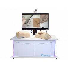 Лабораторно-диагностический учебный комплекс по хирургии с возможностью видеофиксации выполняемых манипуляций