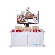 Лабораторно-диагностический учебный комплекс по акушерству и гинекологии с возможностью видеофиксации выполняемых манипуляций