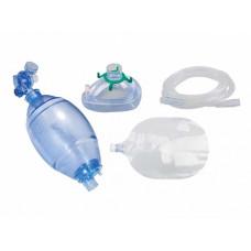 Мешок амбу (дыхательный реанимационный) для взрослых с комплектом лицевых масок различных размеров