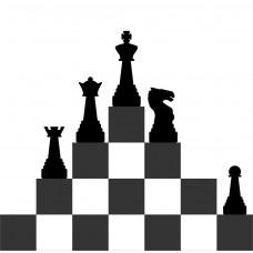 """Стикер для шахматной зоны """"Точка роста""""-1"""