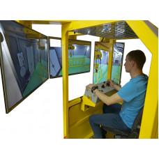 Интерактивный учебный тренажер весоповерочных вагонов моделей А-300, ВПВ-135К