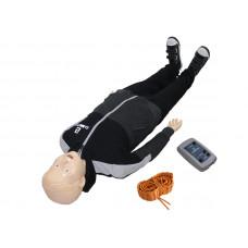 """""""Гриша-07"""" робот-тренажер для обучения навыкам СЛР с симуляционным режимом ранения бедренной артерии"""