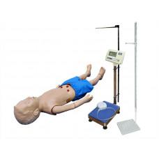 Манекен ребёнка старше 1 года для отработки навыков ухода с возможностью определения показателей физического развития