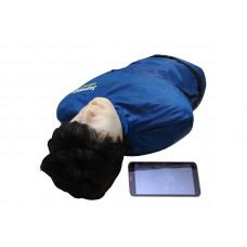 """""""Игорь-01"""" манекен-тренажер взрослого пострадавшего для отработки приемов сердечно-легочной реанимации (голова, торс) с беспроводным планшетным компьютером"""