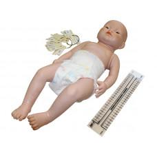 Манекен новорожденного для отработки навыков ухода