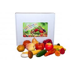 """Набор муляжей """"Дары природы: фрукты, грибы, овощи"""""""