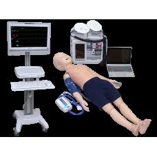 Многофункциональный робот-симулятор пациента с системой мониторинга основных жизненных показателей (ребёнок 5 лет)