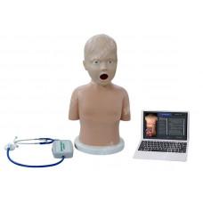 Симулятор с возможностью имитации аускультативной картины заболеваний сердца и лёгких у детей