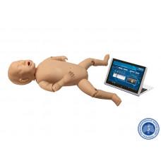 Манекен-тренажер ребёнка для проведения сердечно-лёгочной реанимации с планшетным компьютером