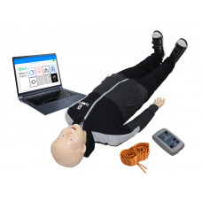 """""""Гриша-08"""" робот-тренажер для обучения навыкам СЛР с симуляционным режимом ранения бедренной артерии и персональным компьютером"""