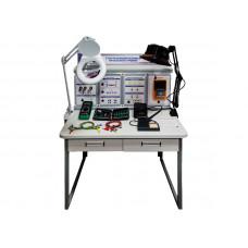 """Комплект учебно-лабораторного оборудования """"Стол радиомонтажника среднего уровня"""""""